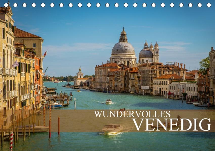 Wundervolles Venedig (Tischkalender 2017 DIN A5 quer) - Coverbild