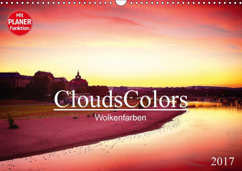 CloudsColors 2017 - Wolkenfarben (Wandkalender 2017 DIN A3 quer) - Coverbild