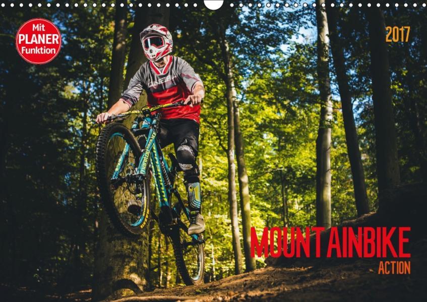 Mountainbike Action (Wandkalender 2017 DIN A3 quer) - Coverbild