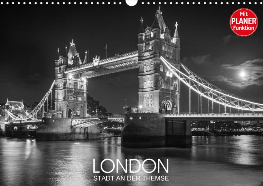 London Stadt an der Themse (Wandkalender 2017 DIN A3 quer) - Coverbild