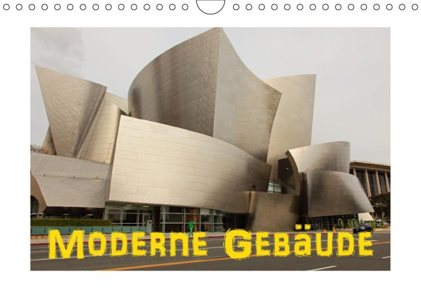 Moderne Gebäude (Wandkalender 2017 DIN A4 quer) - Coverbild