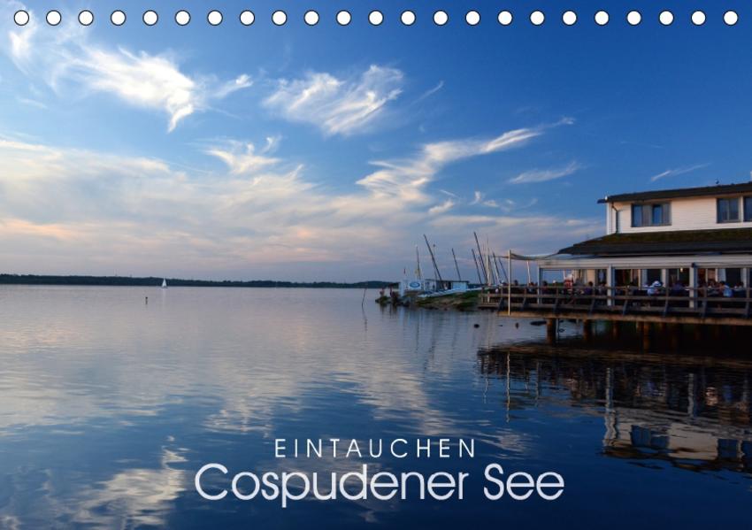 EINTAUCHEN - Cospudener See (Tischkalender 2017 DIN A5 quer) - Coverbild