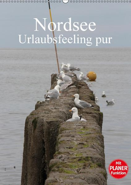 Nordsee / Urlaubsfeeling pur / Familienplaner (Wandkalender 2017 DIN A2 hoch) - Coverbild
