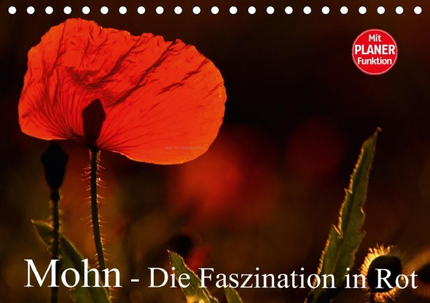 Mohn - Die Faszination in Rot (Tischkalender 2017 DIN A5 quer) - Coverbild