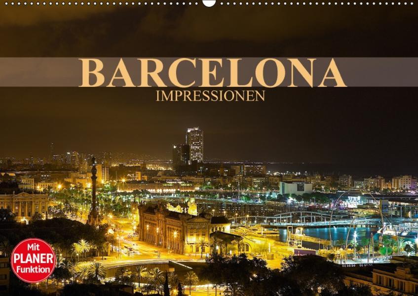Barcelona Impressionen (Wandkalender 2017 DIN A2 quer) - Coverbild