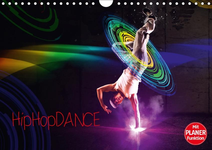 HipHopDance (Wandkalender 2017 DIN A4 quer) - Coverbild