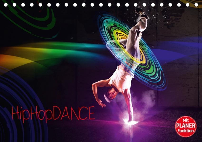 HipHopDance (Tischkalender 2017 DIN A5 quer) - Coverbild