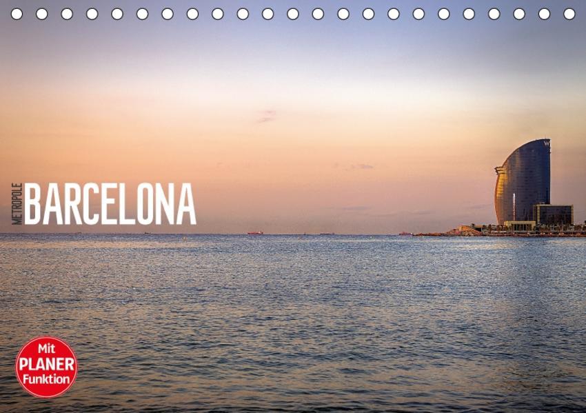Metropole Barcelona (Tischkalender 2017 DIN A5 quer) - Coverbild