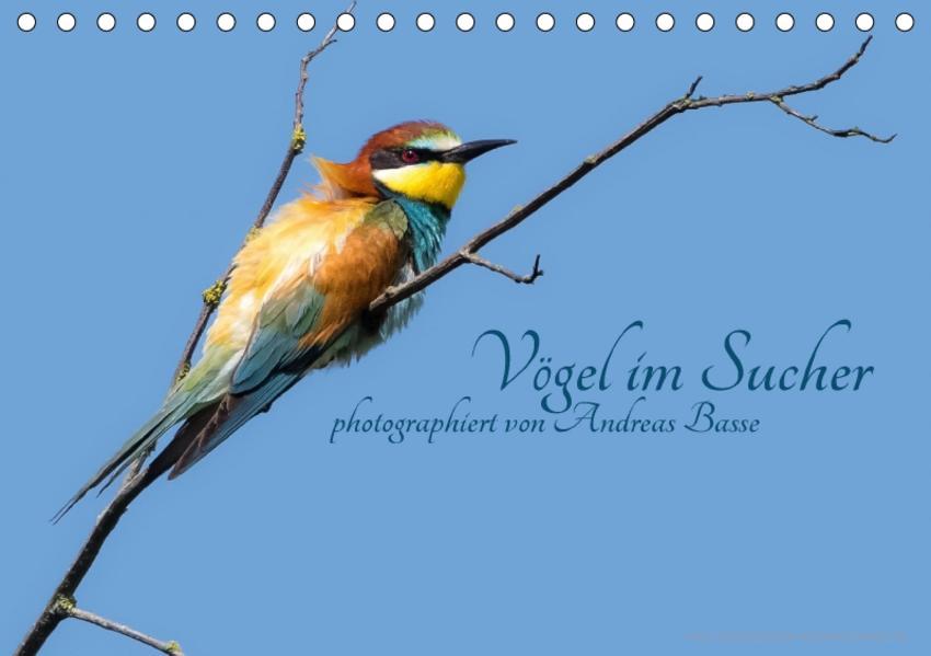 Vögel im Sucher (Tischkalender 2017 DIN A5 quer) - Coverbild