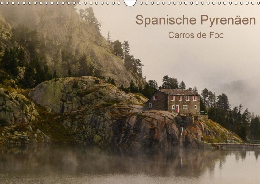 Spanische - Pyrenäen Carros de Foc (Wandkalender 2017 DIN A3 quer) - Coverbild