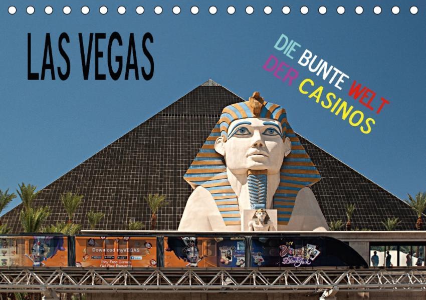 Las Vegas - Die bunte Welt der Casinos (Tischkalender 2017 DIN A5 quer) - Coverbild