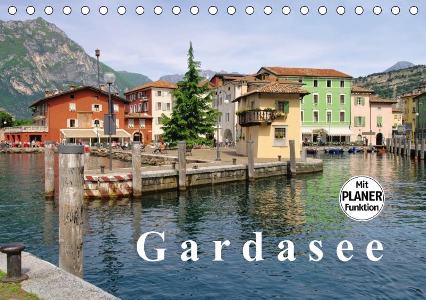 Gardasee (Tischkalender 2017 DIN A5 quer) - Coverbild