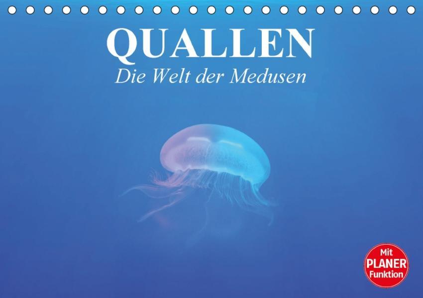 Quallen. Die Welt der Medusen (Tischkalender 2017 DIN A5 quer) - Coverbild