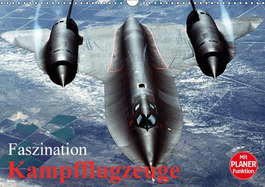 Faszination Kampfflugzeuge (Wandkalender 2017 DIN A3 quer) - Coverbild