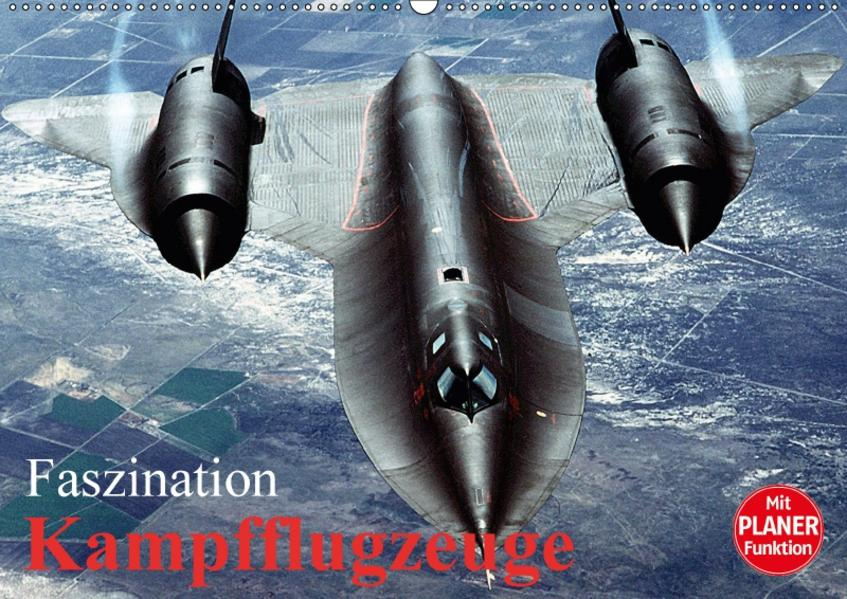 Faszination Kampfflugzeuge (Wandkalender 2017 DIN A2 quer) - Coverbild