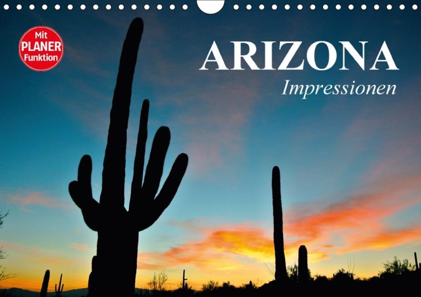 Arizona. Impressionen (Wandkalender 2017 DIN A4 quer) - Coverbild
