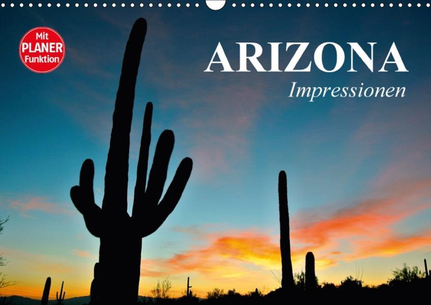 Arizona. Impressionen (Wandkalender 2017 DIN A3 quer) - Coverbild