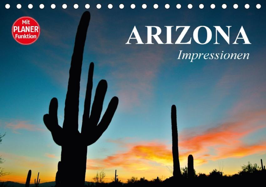 Arizona. Impressionen (Tischkalender 2017 DIN A5 quer) - Coverbild
