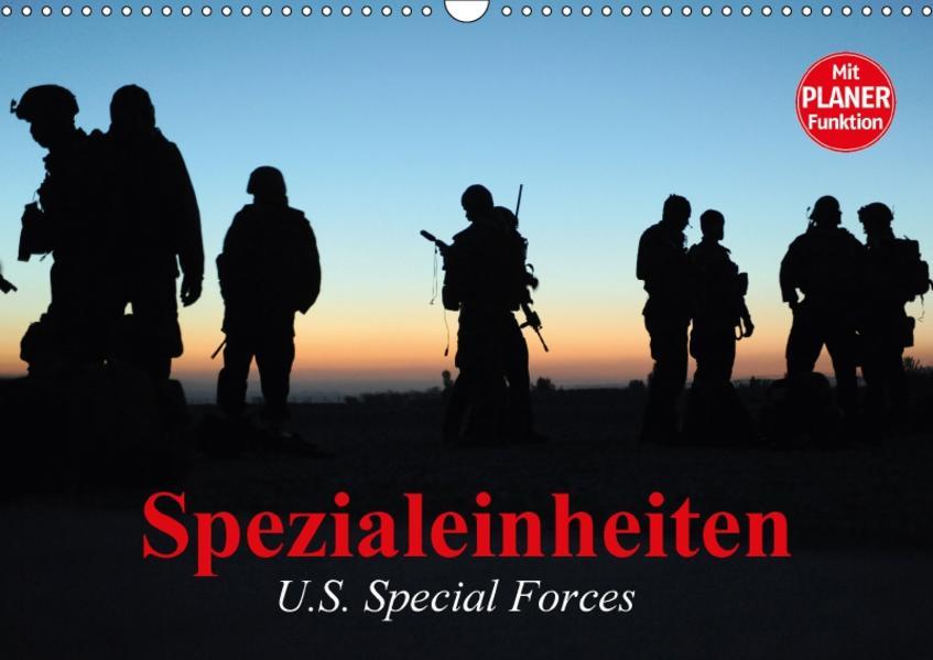 Spezialeinheiten • U.S. Special Forces (Wandkalender 2017 DIN A3 quer) - Coverbild