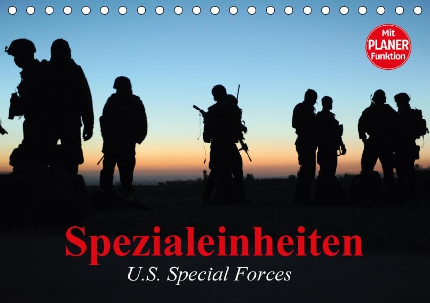 Spezialeinheiten • U.S. Special Forces (Tischkalender 2017 DIN A5 quer) - Coverbild