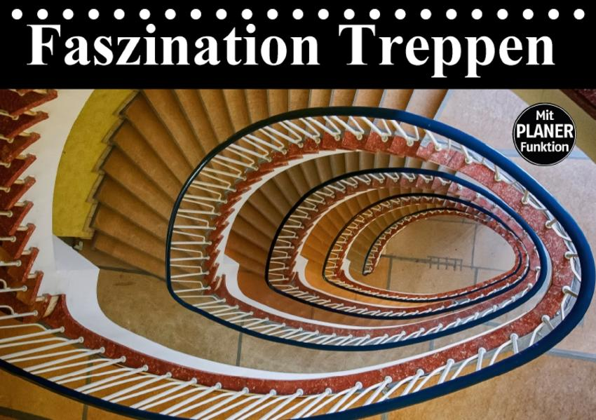 Faszination Treppen (Tischkalender 2017 DIN A5 quer) - Coverbild