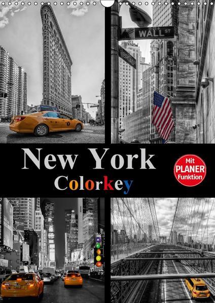 New York Colorkey (Wandkalender 2017 DIN A3 hoch) - Coverbild