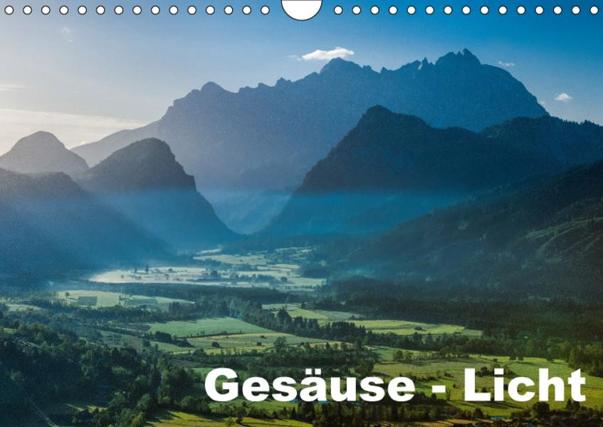 Gesäuse Licht  2017 (Wandkalender 2017 DIN A4 quer) - Coverbild