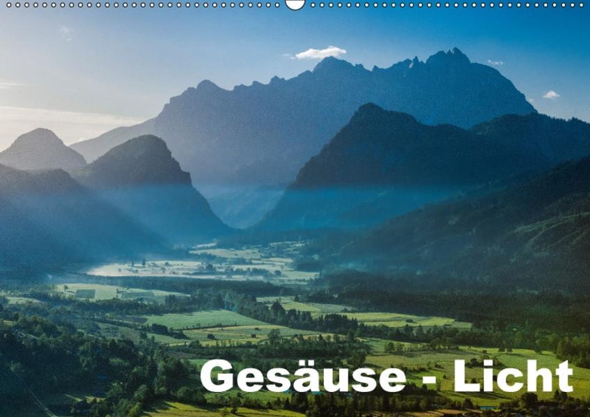 Gesäuse Licht  2017 (Wandkalender 2017 DIN A2 quer) - Coverbild