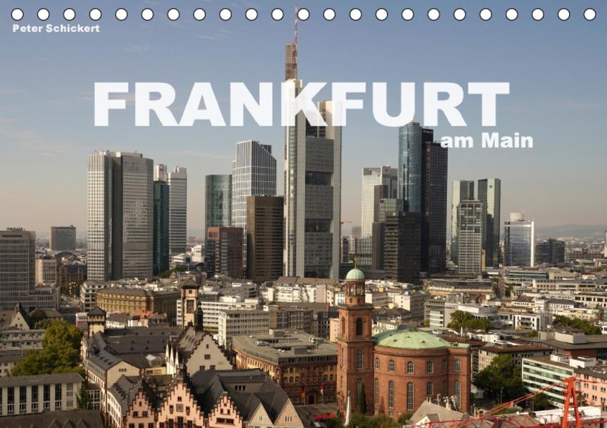 Frankfurt am Main (Tischkalender 2017 DIN A5 quer) - Coverbild