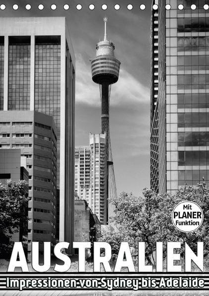 AUSTRALIEN Impressionen von Sydney bis Adelaide (Tischkalender 2017 DIN A5 hoch) - Coverbild