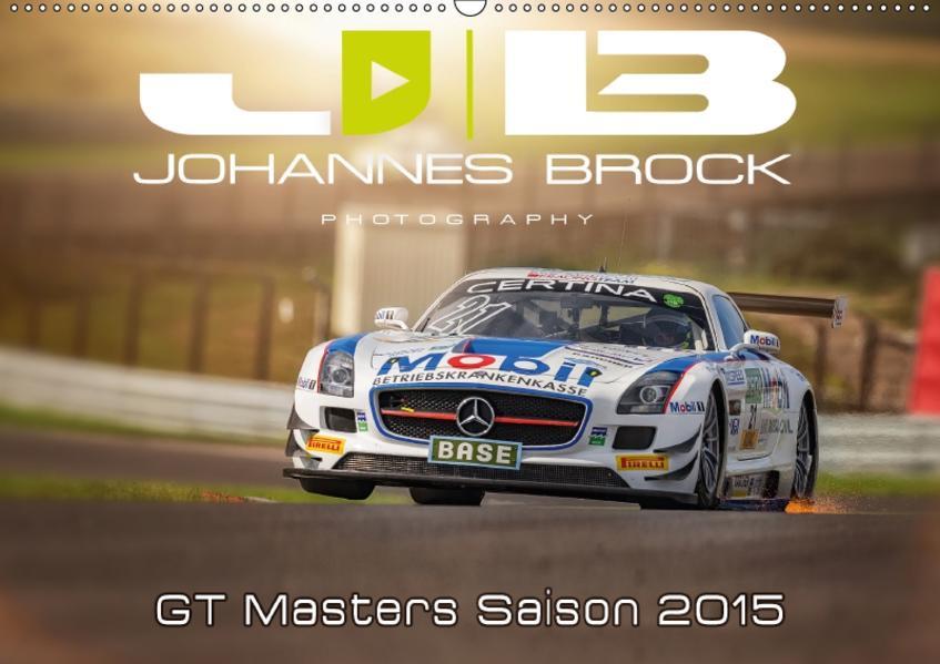 GT Masters Saison 2015 (Wandkalender 2017 DIN A2 quer) - Coverbild