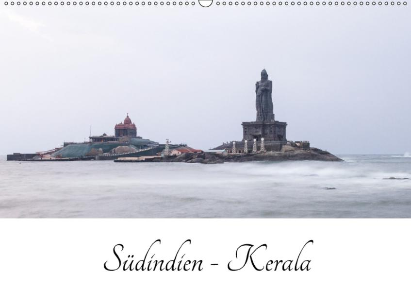 Südindien - Kerala (Wandkalender 2017 DIN A2 quer) - Coverbild
