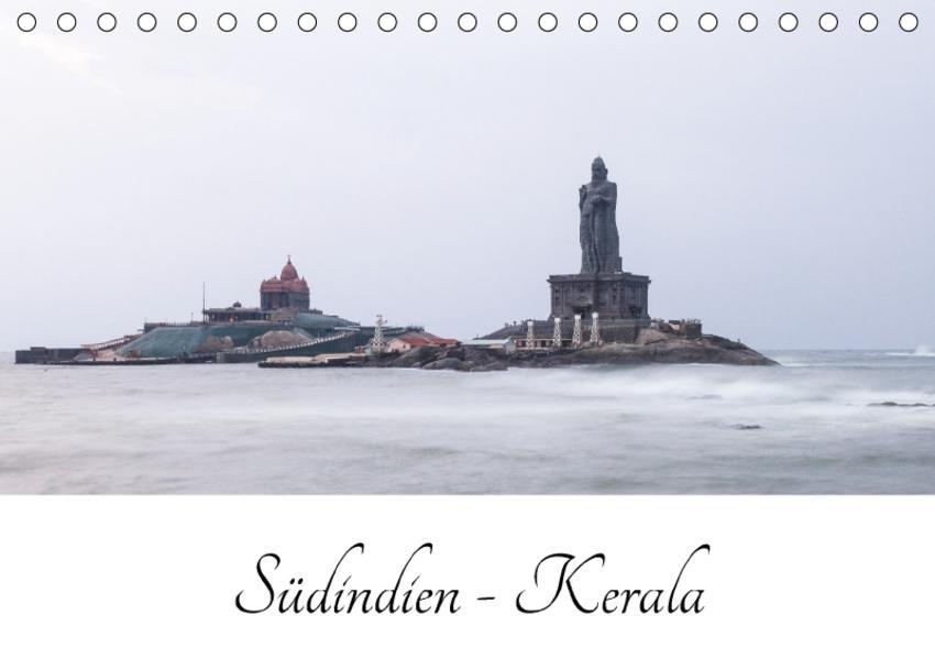 Südindien - Kerala (Tischkalender 2017 DIN A5 quer) - Coverbild