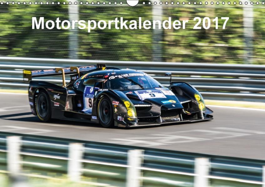 Motorsportkalender 2017 (Wandkalender 2017 DIN A3 quer) - Coverbild