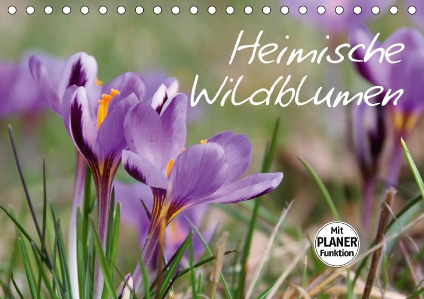 Heimische Wildblumen (Tischkalender 2017 DIN A5 quer) - Coverbild