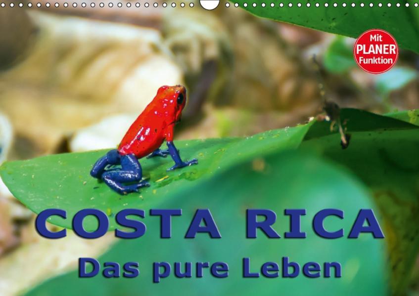Costa Rica - das pure Leben (Wandkalender 2017 DIN A3 quer) - Coverbild