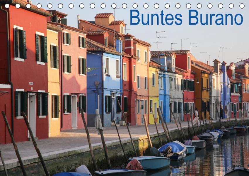 Buntes Burano (Tischkalender 2017 DIN A5 quer) - Coverbild