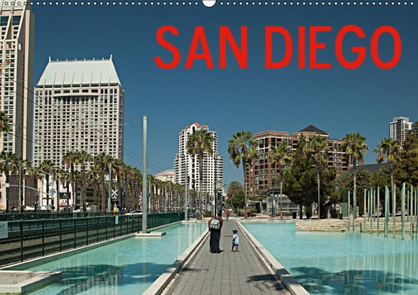 San Diego (Wandkalender 2017 DIN A2 quer) - Coverbild