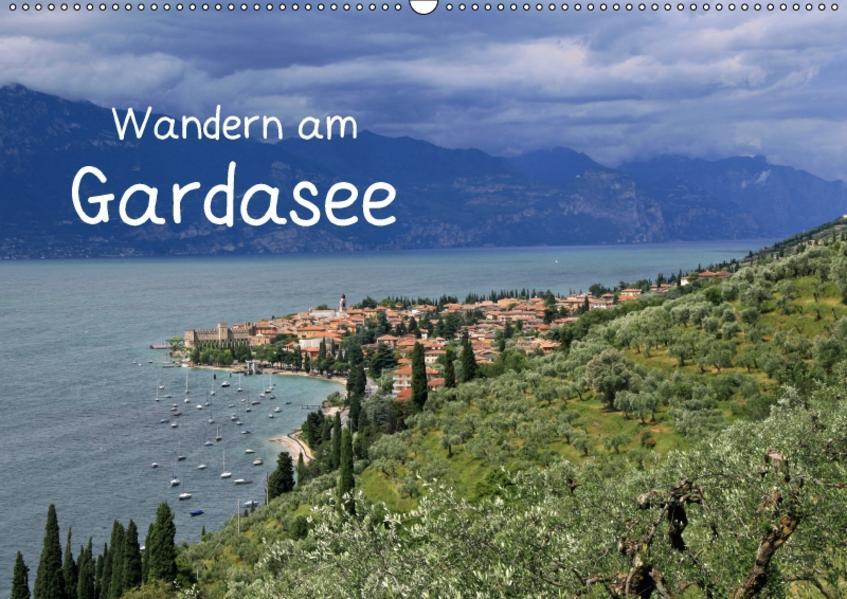 Wandern am Gardasee (Wandkalender 2017 DIN A2 quer) - Coverbild