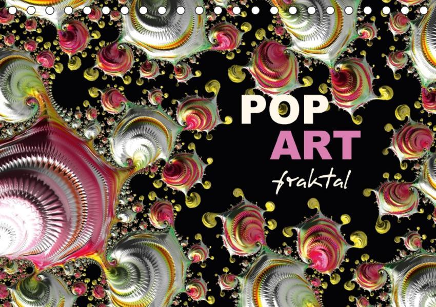 POP ART fraktal (Tischkalender 2017 DIN A5 quer) - Coverbild