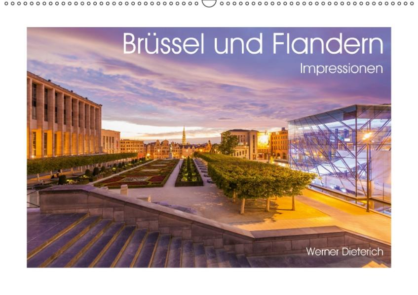 Brüssel und Flandern Impressionen (Wandkalender 2017 DIN A2 quer) - Coverbild