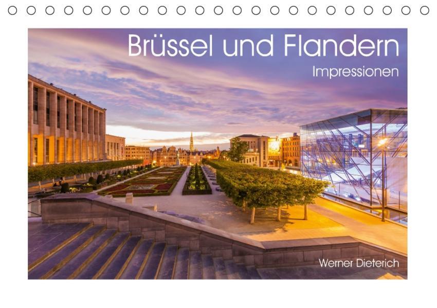 Brüssel und Flandern Impressionen (Tischkalender 2017 DIN A5 quer) - Coverbild
