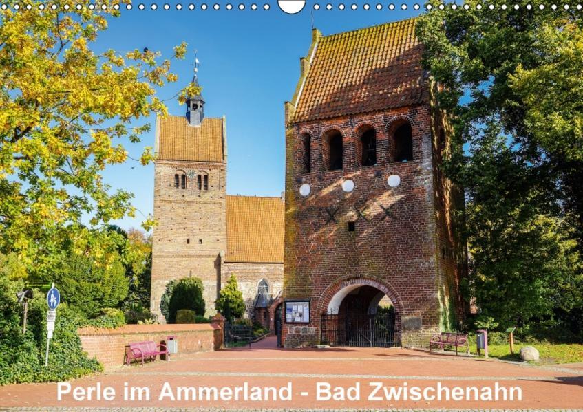 Perle im Ammerland - Bad Zwischenahn (Wandkalender 2017 DIN A3 quer) - Coverbild