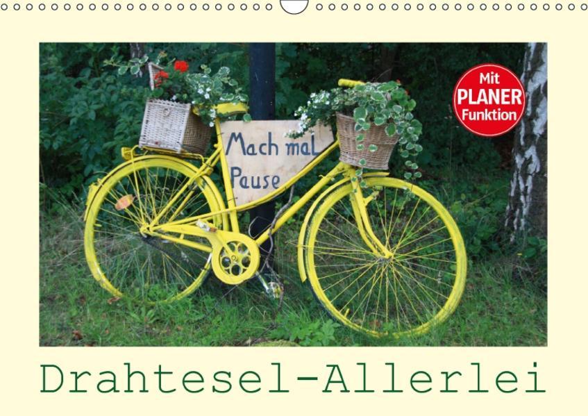 Drahtesel-Allerlei (Wandkalender 2017 DIN A3 quer) - Coverbild