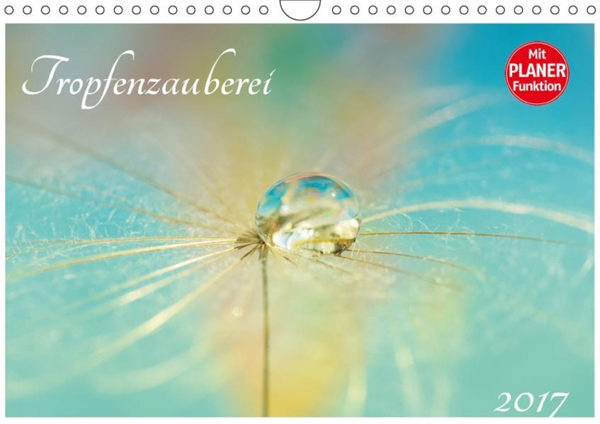 Tropfenzauberei  2017 (Wandkalender 2017 DIN A4 quer) - Coverbild