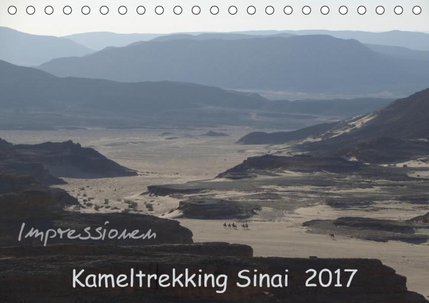 Impressionen Kameltrekking Sinai 2017 (Tischkalender 2017 DIN A5 quer) - Coverbild