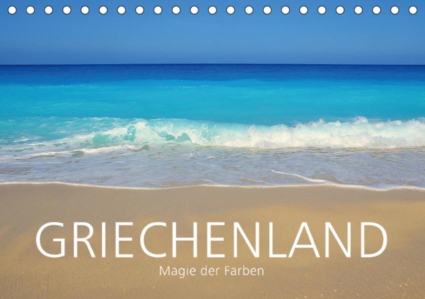Griechenland –Magie der Farben (Tischkalender 2017 DIN A5 quer) - Coverbild
