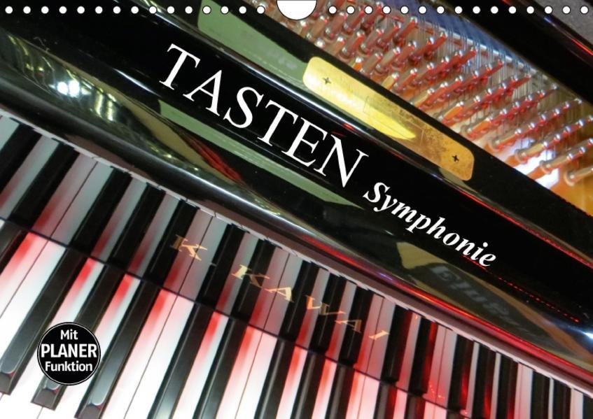 TASTEN Symphonie (Wandkalender 2017 DIN A4 quer) - Coverbild