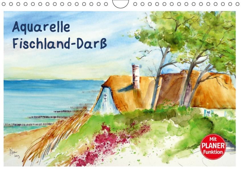 Aquarelle - Fischland-Darß (Wandkalender 2017 DIN A4 quer) - Coverbild