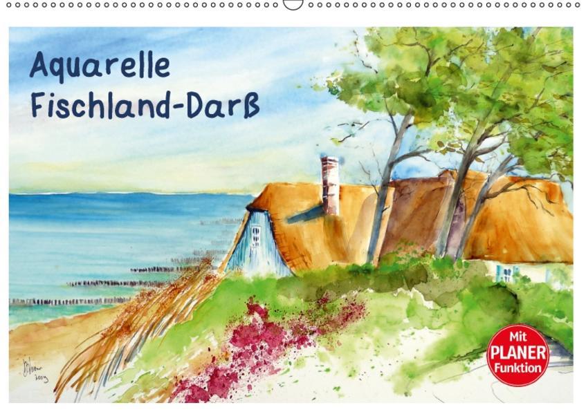 Aquarelle - Fischland-Darß (Wandkalender 2017 DIN A2 quer) - Coverbild